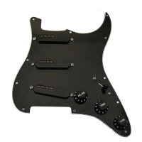 Lace loaded pickguard available in black or white.