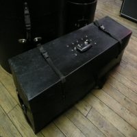 <p>5-Piece rock kit cases.</p><p>Condition: Bass drum missing one handle, otherwise generally good.</p>