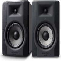 "<p>Best-selling studio monitors at this price-point!</p><p>Bi-amplified design with 100 watts (60 LF, 40 HF) for powerful, accurate sound</p><p>5"" Kevlar low-frequency driver with high-temp voice coil and damped rubber surround</p><p>1"" natural silk dome tweeter delivers superb transient details</p><p><br /></p>"
