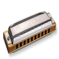 <p>The classic Blues Harmonica!<br />Hohner's most popular design of all time.</p><p>The choice of professional musicians world-wide.</p><p>10 hole. 3 octave range.<br /><br /><br /></p>