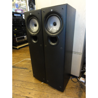 <p>Quality modern floor-standers with a two-way coaxial speaker design and bass reflex port on the front panel. <br />Soft dome tweeter, 160mm bass woofer. </p><p>Excellent sound, very good condition.</p><p>Complete with spikes and front grilles.</p>