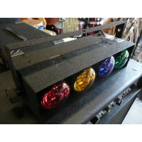 <p>4-way disco light by Maplin.</p><p>3 available.</p>